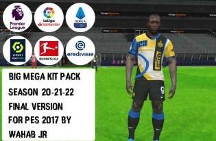 Pes 2017 Mega Kitspack 2021/22 by Wahab JR